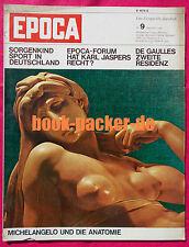 Epoca 1966 nº 9: Karl Jaspers/preocupaciones niño deporte en dtld./de Gaulle-residencia