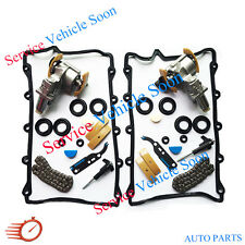 Left & Right Timing Chain Tensioner Camshaft Full Set For Audi A6 A8 VW Touareg