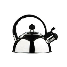 1L Stainless Steel Whistling Kettle Electric Camping Fishing Cordless Kettle