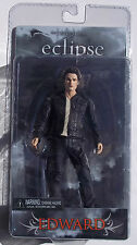 THE TWILIGHT SAGA. ECLIPSE. EDWARD IN LEATHER JACKET ACTION FIGURE. NEW ON CARD