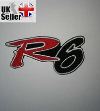 Yamaha R6 Iron-on/sew-on Embroidered Patch Motorcycle Biker Kawasaki