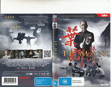Ip Man:The Final Fight-2013-Anthony Wong-Hong Kong Movie-DVD