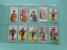 FULL SET CIGARETTE CARDS ANSTIE SCOUT SERIES