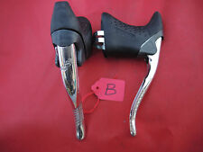 CLASSIC SHIMANO EXAGE MOTION ALLOY BRAKE LEVERS + HOODS - BL-A251 - POLISHED