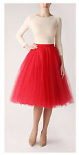 5 layers lace Maxi Long Tulle Skirt Celebrity Skirts womens Adult Tutu Ball Gown