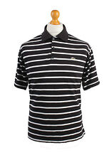 Lacoste Vintage Casual Men Polo Shirt Black/Stripes Size M - PT0160