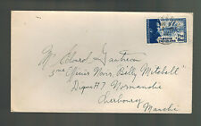1942 France Cover Waffen SS Foreign Legion Volunteer Stamp # B14a