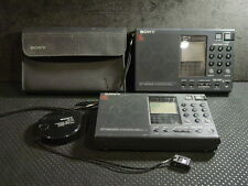 Lot of two Sony ICF-SW7600 short wave radios for parts or repair not working