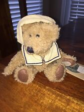 "Boyds Bears Chauncey Fitzbruin Plush Sailor Boy 6"" Bear (DC)"