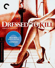 Dressed to Kill (Blu-ray Disc, 2015, Criterion Collection)