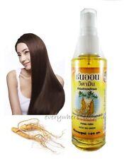 GINSENG TONIC HAIR LOSS NATURAL FAST GROWTH REGROWTH SERUM REPAIR 100 ML 3.53 Oz