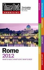 Time Out Shortlist Rome 2012-ExLibrary