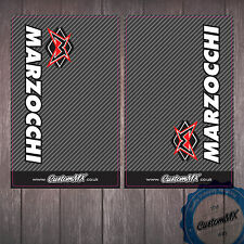 MARZOCCHI Carbon Upper Fork Graphics Stickers Decals Husqvarna TE TC FE CR