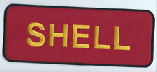 Shell Oil Co driver/employee patch large jacket size 4 X 10