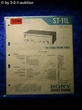 Sony Service Manual ST 11L Tuner  (#2344)
