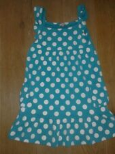 John Lewis Green Spotty Summer Dress age 11 yrs  EXCELLENT CONDITION