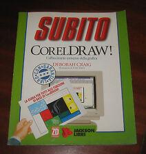 """Libri/Riviste/Giornali/PC Computer""""SUBITO CORELDRAW""""Deborah Craig/Jackson Libri"""