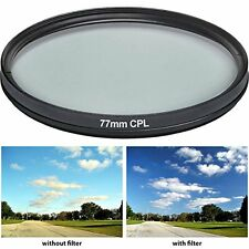 Vivitar CPL77 77mm 1-Piece Multi-Coated Camera Lens Filter