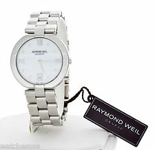Raymond Weil Men's 5817 Allegro White Dial Stainless Steel Bracelet Quartz Watch