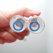 Kitty Kawaii Glacious Blue Color Contact Lenses for Cosplay, Party