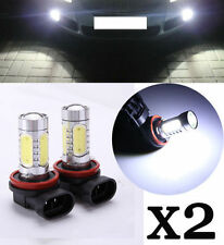 2 x CREE H11 Xenon WHITE 7.5W HIGH POWER  LED CAR FOG LIGHT BULBS