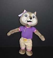 "Fiesta Violet Wolf Plush 16""  Girl Great Wolf Lodge w/ Clothes Stuffed animal"