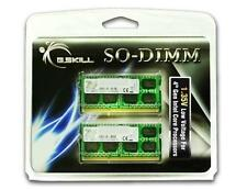 8GB G.Skill DDR3 1333MHz SO-DIMM (DDR3L) 1.35V laptop memory kit (2x4GB) CL9