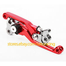 CNC Pivot Brake Clutch Levers For Honda CRF250R/450R 2004 2005 2006 Dirt Bike