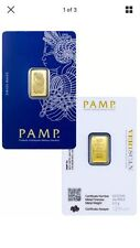 PAMP Suisse 2.5 Gram .9999 Gold Bar Fortuna W/ VeriScan Certificate. Invest Now!