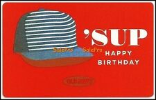 OLD NAVY BASEBALL CAP 'SUP HAPPY BIRTHDAY COLLECTIBLE GIFT CARD