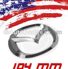 1 - NEW Mazda 2 3 5 6 CX-5 Rear Badge Emblem RX8 RX3 Speed Miata MAZDA 104mm CH