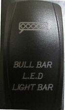 TERYX MAVERICK COMMANDER Back Lit RED BULL BAR Rocker Switch ON OFF #ACBBLR