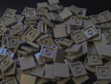 50 x LEGO Town Star Wars Light Grey Tile 2x2 Smooth Finishing ( part no 3068 )