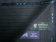 100% WOOL WORSTED SUITING FABRIC BY Dormeuil - Amadeus –MADE IN ENGLAND-3.4 m