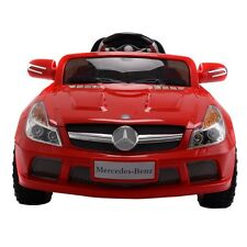 Electric 12V Mercedes-Benz SL65 Music Kids Ride On Car RC Remote Control Red