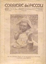 CORRIERE DEI PICCOLI 19 MARZO 1911 anno III NUMERO 12 CON SOVRACOPERTINA