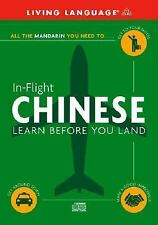 In-Flight Chinese: Learn Before You Land Living Language Audio CD