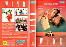 VHS -- WIND -- (1992) - Matthew Modine - Jennifer Grey - Cliff Robertson