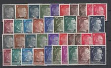 WWII Nazi Occup.Ukraine/Ostland Full Sets Hitler Head MNH Luxe.