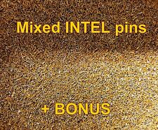 10+g Gold Plated CPU Pins For Gold Recovery Mixed Intel Pins Gold Scrap Recovery