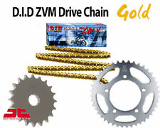 Yamaha YZF R1 World GP 50th 2012 DID GOLD X-Ring Chain and Sprocket Kit