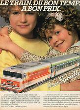 Publicité 1990  SNCF  prix famille