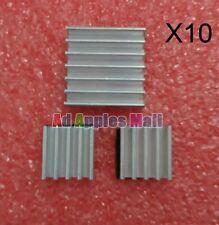 10X Aluminum Kühlkörper Kühler Heatsink Sit für Raspberry Pi Total 30PCS NEU