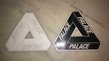 PALACE SKATEBOARDS - Tri Ferg Vinyl Sticker Pack (x2) Black & White