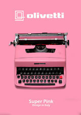 SALE!!! LIGHT PINK TYPEWRITER - OLIVETTI 32 - Vintage typewriter