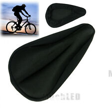 NEW GYM & SPINNING CLASSES BIKE BICYCLE SOFT EXTRA COMFORT GEL SADDLE SEAT COVER
