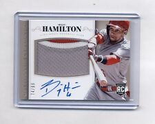 BILLY HAMILTON 2014 NATIONAL TREASURES RC ROOKIE PATCH AUTO #74/99