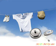 New Stainless Steel Retractable Balcony Clothes Line Clothesline For Laundry hy