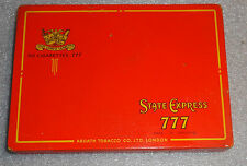 State Express 777 flat 50s cigarette tin