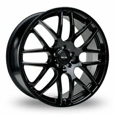 "18"" BLACK DTM ALLOY WHEELS FIT MERCEDES A B C E R CLASS CLA GL GLK VIANO VITO"